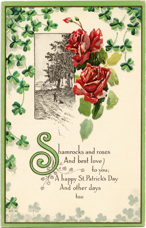 Remodelaholic 30 Free Vintage St Patrick S Day