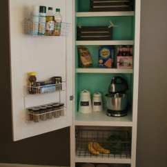 Portable Kitchen Island Modern Cabinet Knobs Remodelaholic | Awesome Organizing Ideas For Your Whole ...