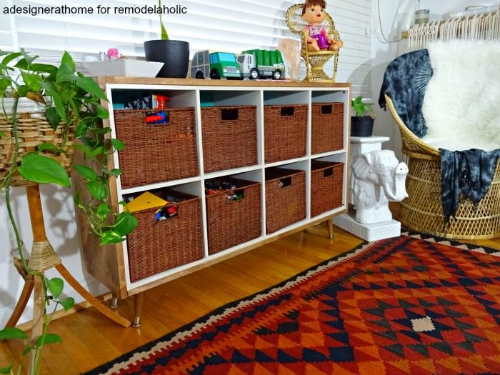 Playroom Storage Cubes