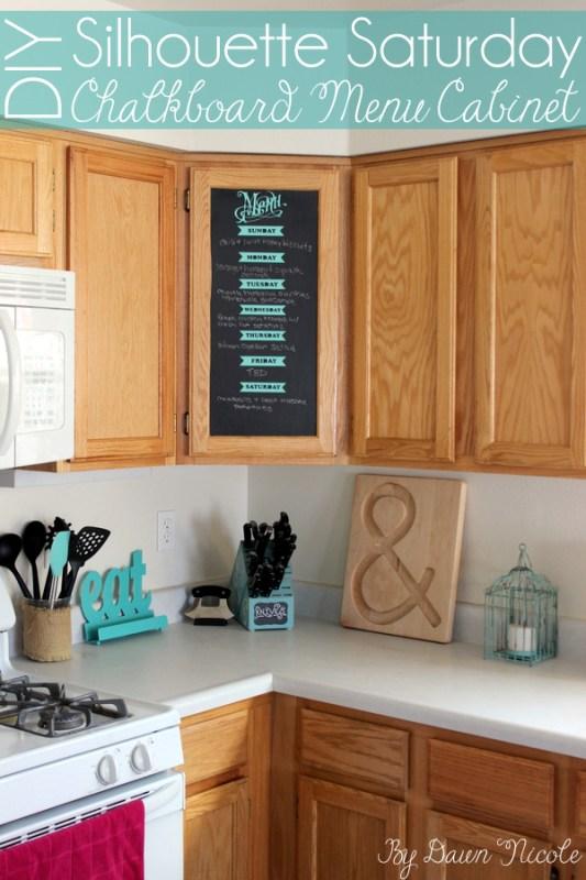 DIY-Chalkboard-Menu-Cabinet-1