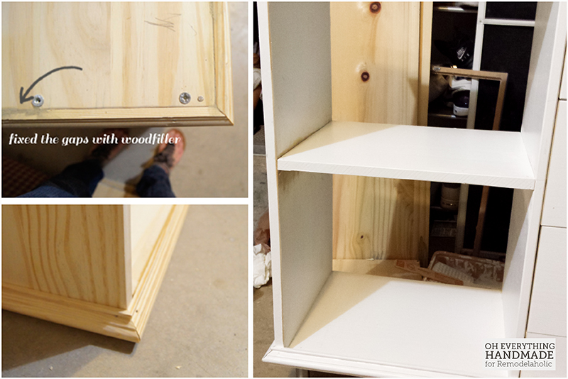 IKEA RAST Hack 101- attaching border and shelving