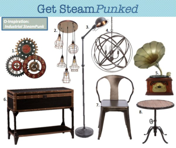 Industrial Decor Ideas from Overstock