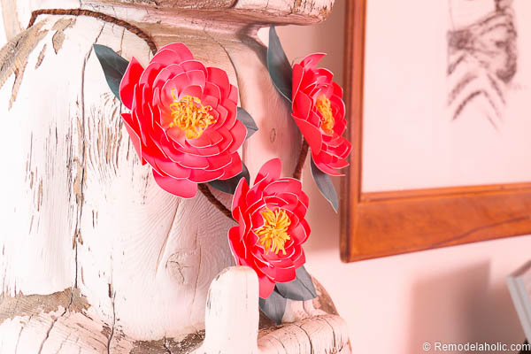 Paper Flower Garland Tutorial with Canon printer2 @remodelaholic-0268
