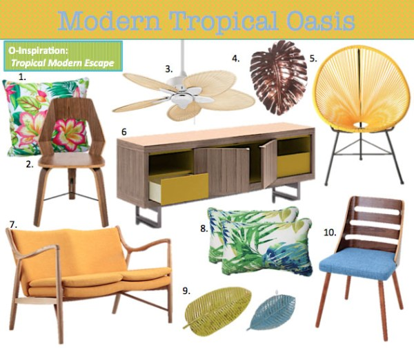 Modern Tropical Decor Ideas