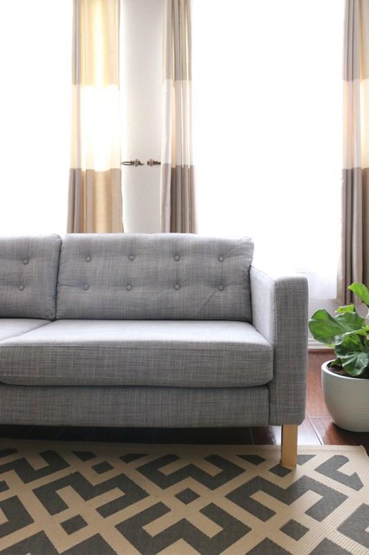 Tufted-Ikea-Karlstad-Sofa-Cushions