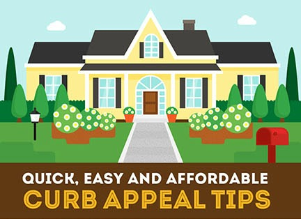 Curb Appeal Tips featured on remodelaholic.com