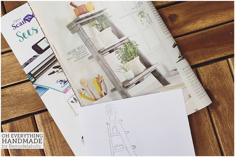 Ladder Plant Stand by OEH - Inspiration out of a magazine