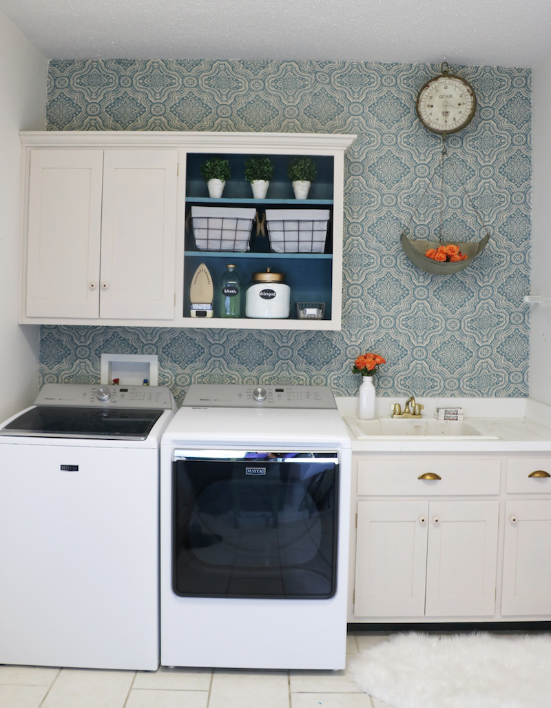Laundry Room Inexpensive Makeover