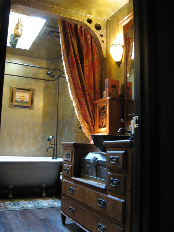 Steampunk bathroom sgrose
