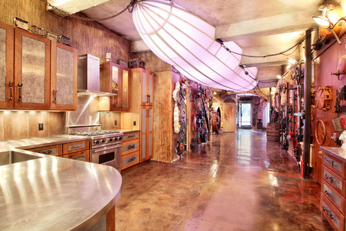 Steampunk loft houzz
