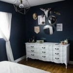 DIY Moody Master Bedroom Update (with chalk spraypainted dressers!)