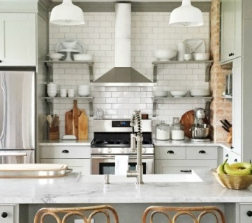 Whitney's Beautiful DIY Kitchen (with IKEA Cabinets!)