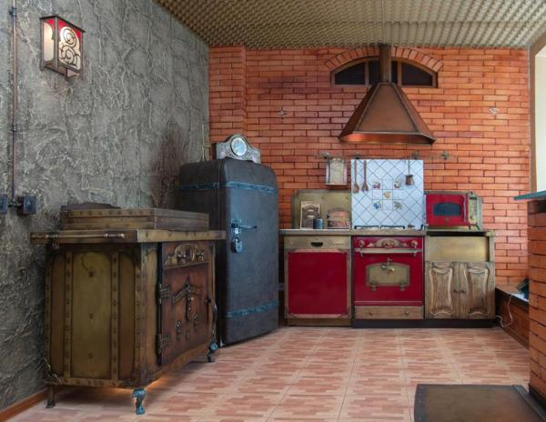 Remodelaholic Inspiration File Industrial Steampunk
