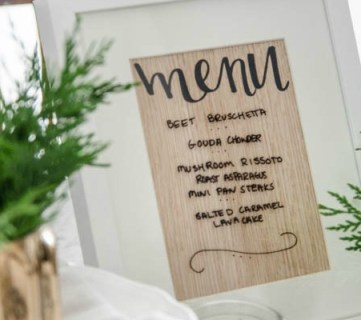 25+ Awesome DIY Menu Boards