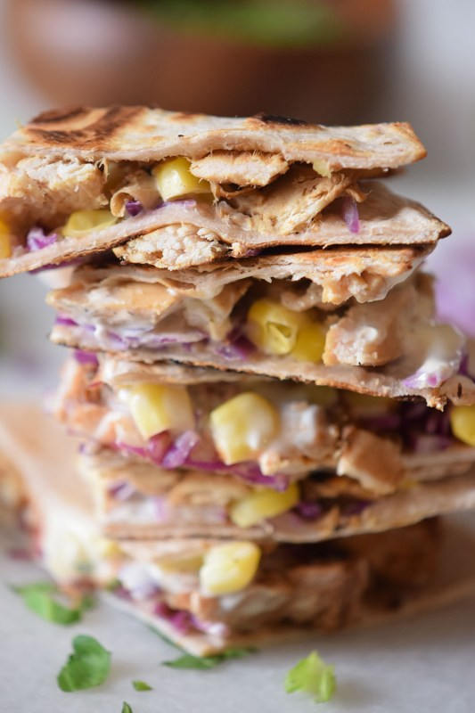 Chicken Taco Quesadillas recipes perfect for lunch or dinner