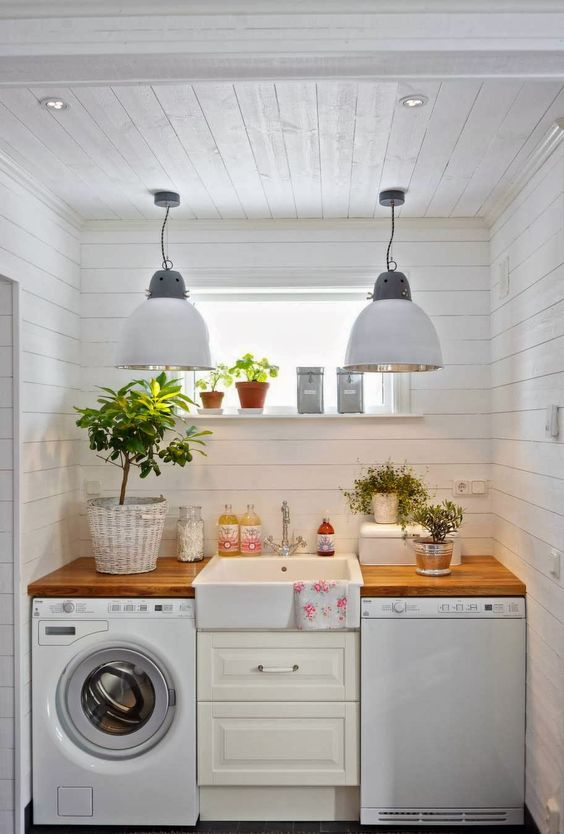 Beautiful laundry room inspiration |
