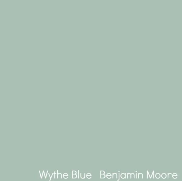 Remodelaholic Color Spotlight Wythe Blue From Benjamin