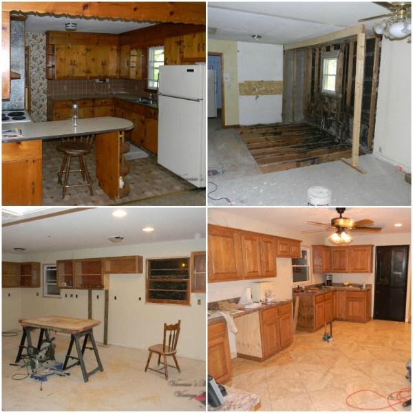 Kitchen Renovation, Vanessa's Modern Vintage Home