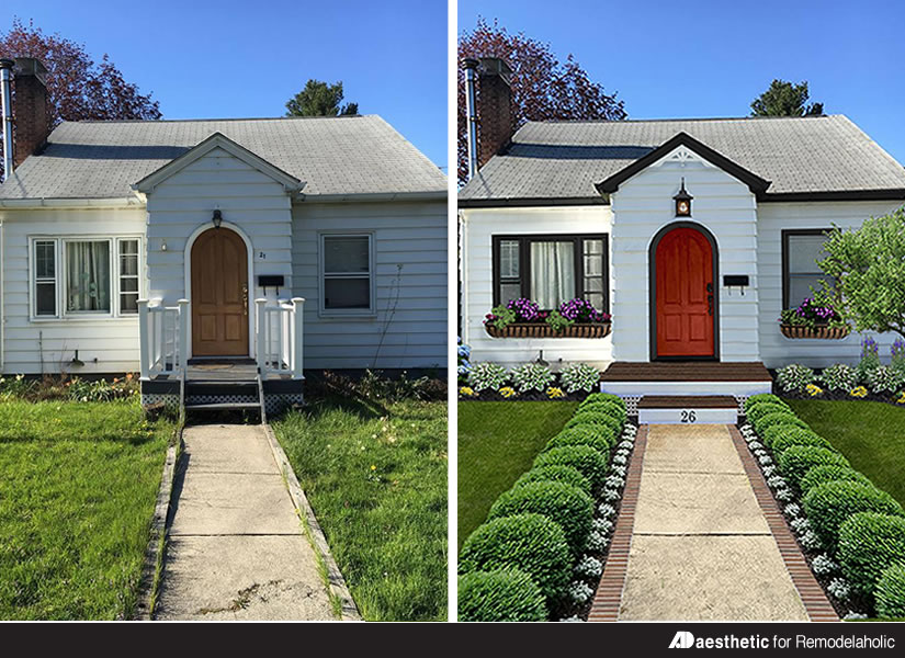 Remodelaholic Real Life Homes A Cute Cottage Makeover
