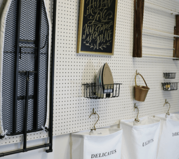 How to Hang Pegboard for PERFECT Laundry Room Storage
