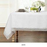 tablecloth white pretty eding