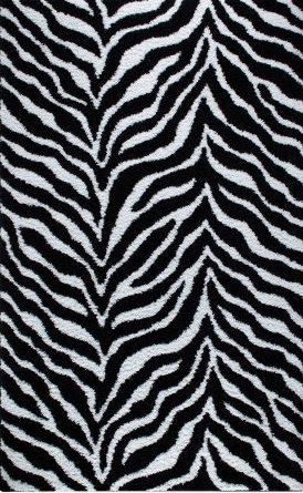 Zebra Shag Rug   // buy it here