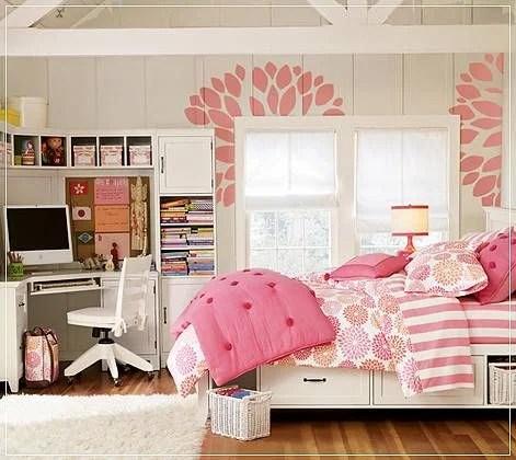 girls room for Girl Bedroom Mood Board,Postbox Designs
