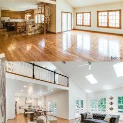 Modern Wooden Ceiling Design For Living Room 2016 Diy Remodelaholic | Before & After: From Dated 1980's ...