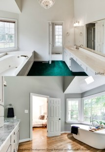 1980s Bathroom Remodel Before and After