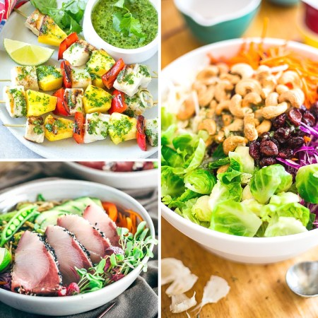 Weeknights can get crazy and dinner can make it even crazier. Don't worry, try one of these 25 Quick-Fix Dinner Recipes to get something to eat fast. Recipes featured on Remodelaholic.com