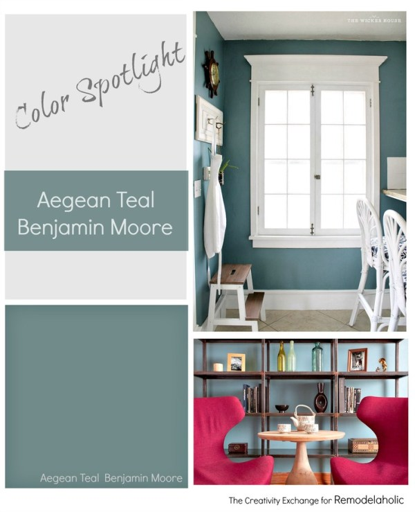 Aegean Teal by Benjamin Moore is one of the best rich teal paint colors out there, balancing warm and cool tones perfectly. Read more to learn why you should give this transitional color a try!