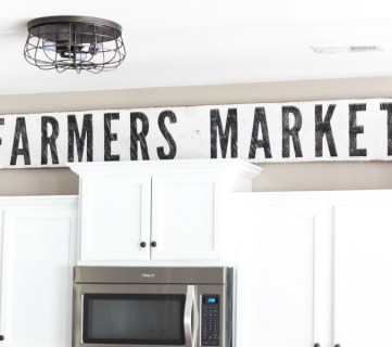 How to Make Painted Farmhouse Signs the Easy Way