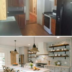 Inexpensive Countertops For Kitchens Wooden Kitchen Set Remodelaholic | 6 Design Elements Of A Fixer Upper ...