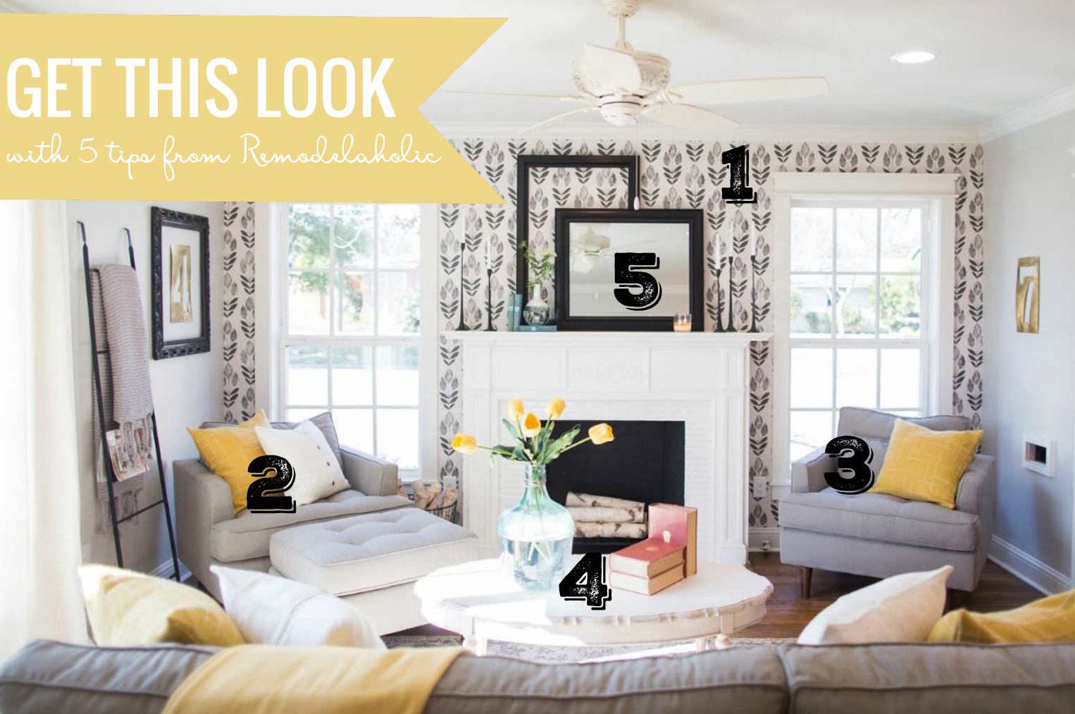 Get this Look - Fixer Upper Living Room Chicken House