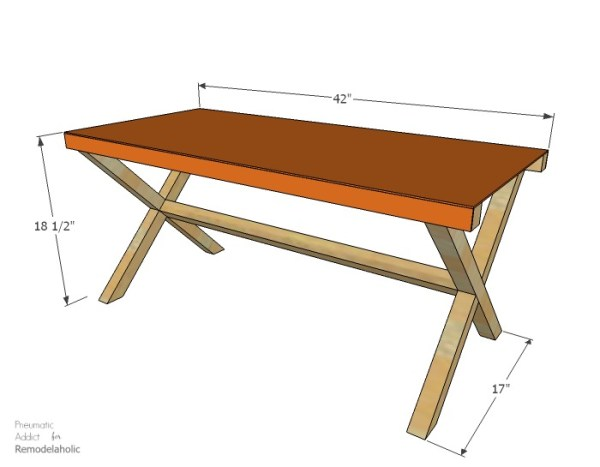 How to make a leather director's bench