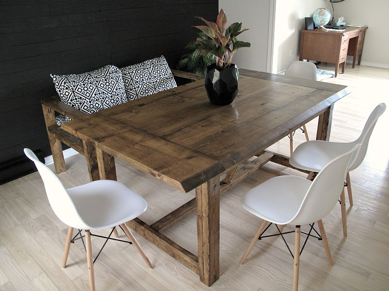 Build A Dining Room Table For $75, Shark Tails