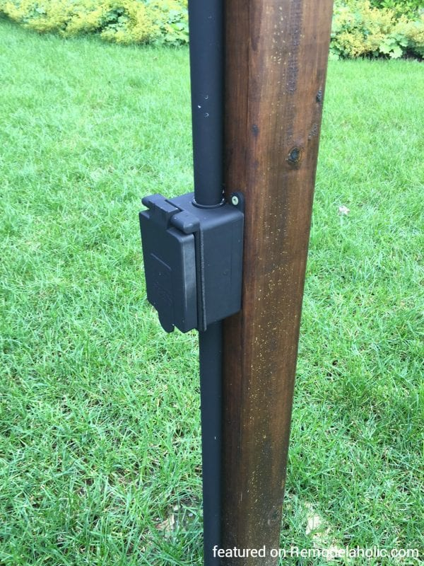 Wiring Outdoor Light Posts