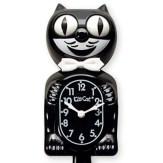 vintage kitchen charm classic black cat clock thumb