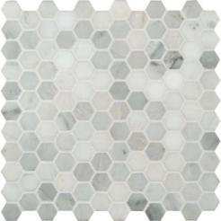vintage kitchen charm marble hexagon tile