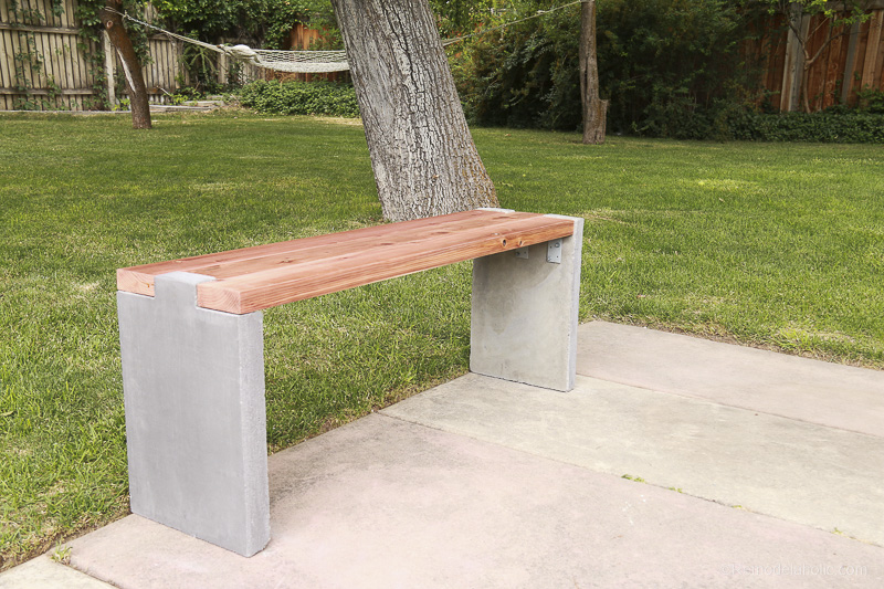 diy-modern-concrete-and-redwood-bench-remodelaholic-8420