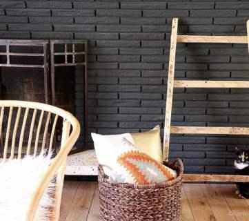 Pallet Blanket Ladder Tutorial for Quilts or Shoe Storage