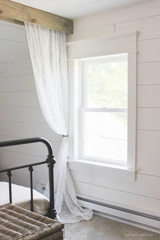Fixer Upper DIY Farmhouse Window Trim_Love Grows Wild