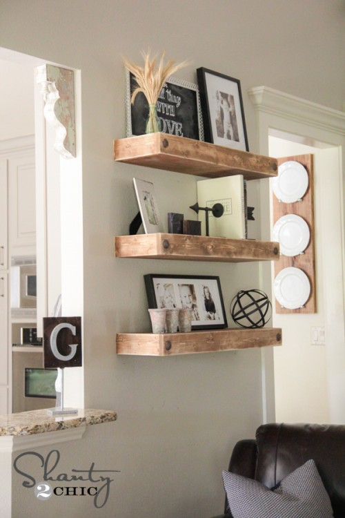 Fixer Upper DIY Floating Shelves_Shanty2Chic