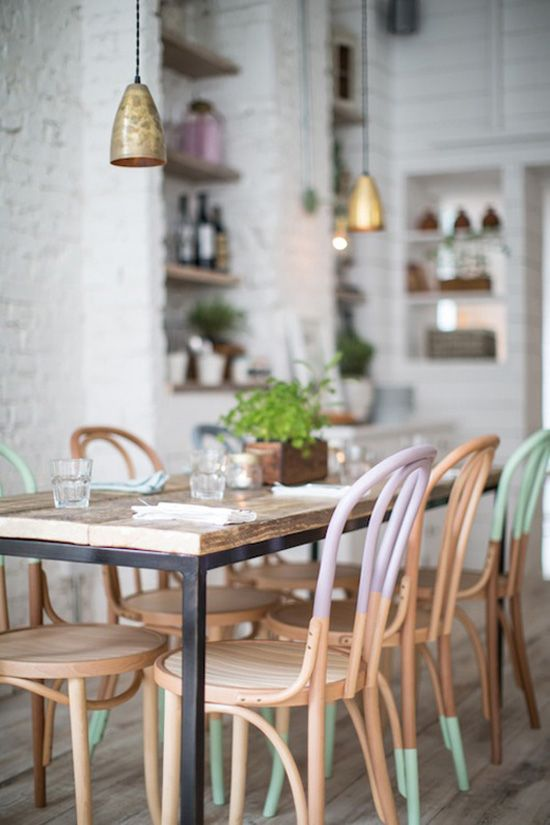 Mint and Copper Kitchen Inspiration | Image Source: RemodelistaDesign: Alexander Waterworth Interiors Photo Credit: Helen Cathcart