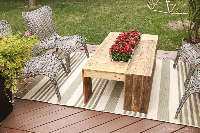 Rustic-Pallet-Wood-Coffee-table
