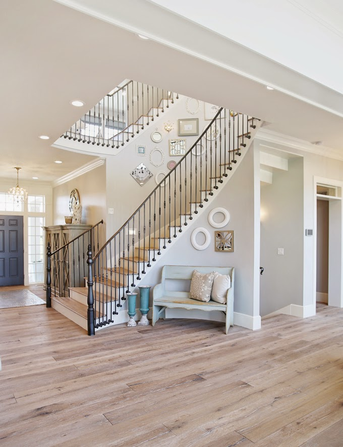 Tips for choosing a whole home paint color | Wall color is Passive Sherwin Williams. | More paint colors and tips at Remodelaholic.com