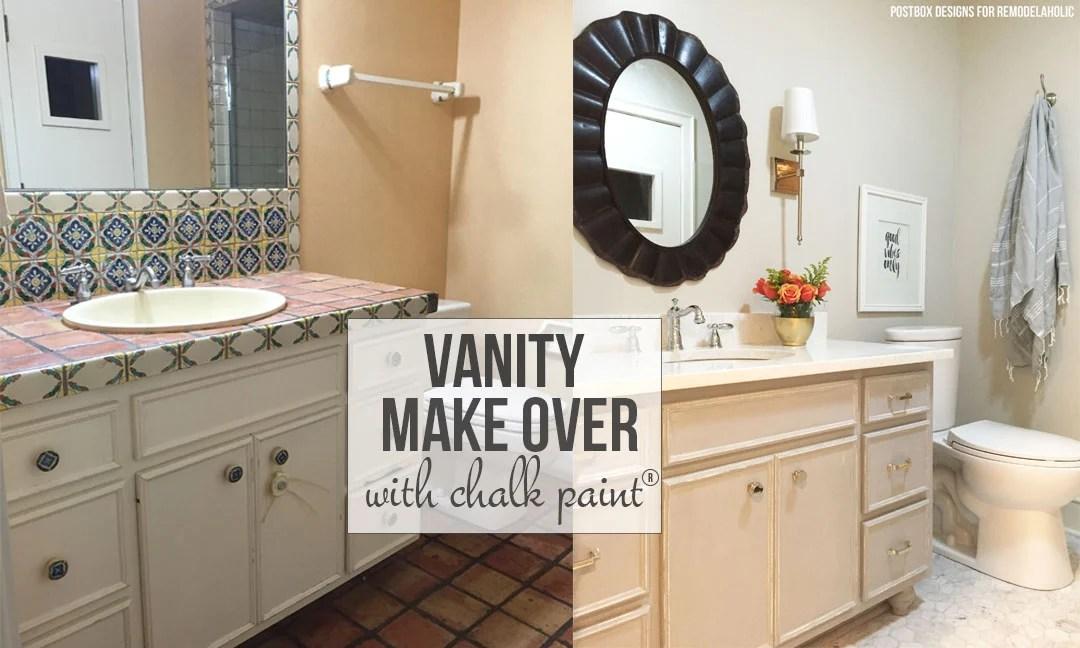 Chalk Paint In Bathroom