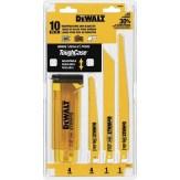 bimetal reciprocating saw blade set