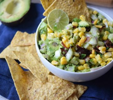 Bacon Corn Guacamole