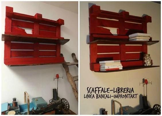 Pallet Wall Shelf Via